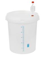Pojemniki fermentacyjne z miarką