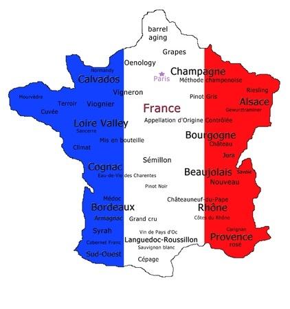 Mapa smaków Francji