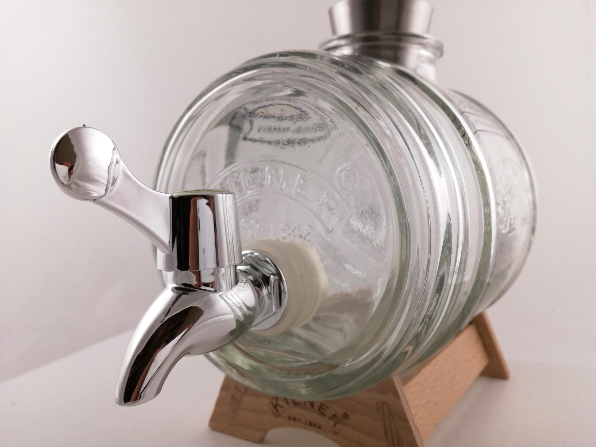 beczułka szklana
